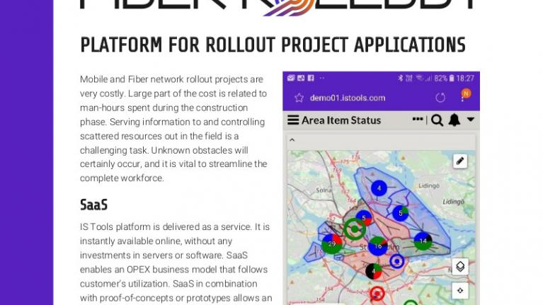 Platform for rollout project applications